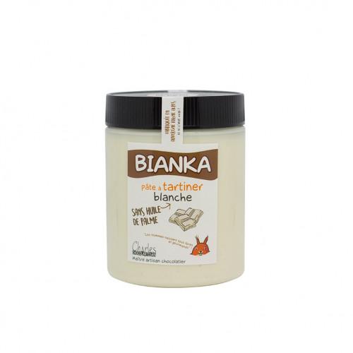 570g - Pâte à tartiner blanche BIANKA