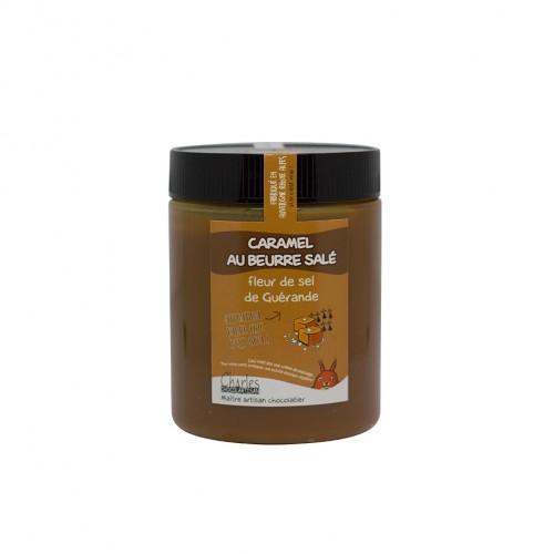 Pâte à tartiner Caramel beurre salé et Fleur de Sel de Guérande sans huile de palme
