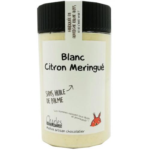 Pâte à tartiner Blanc citron meringué - Edition limitée sans huile de palme