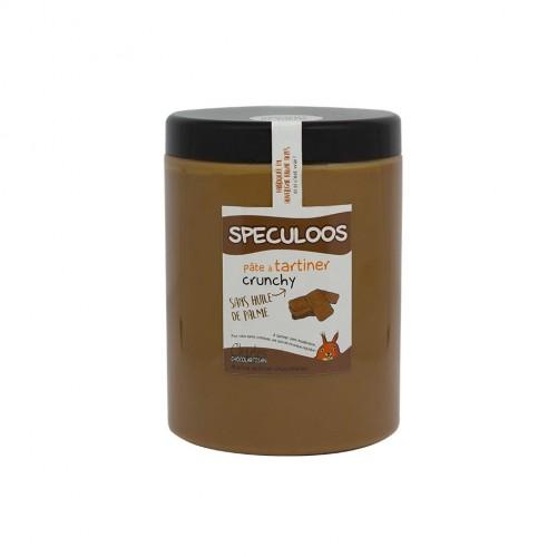 Pâte à tartiner Spéculoos crunchy 1,1 Kg sans huile de palme