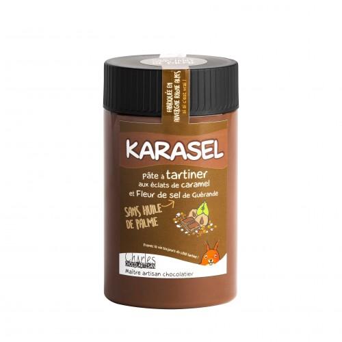 Pâte à tartiner Karasel 280 gr sans huile de palme