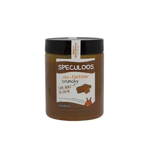 Pâte à tartiner Spéculoos crunchy 570 gr sans huile de palme
