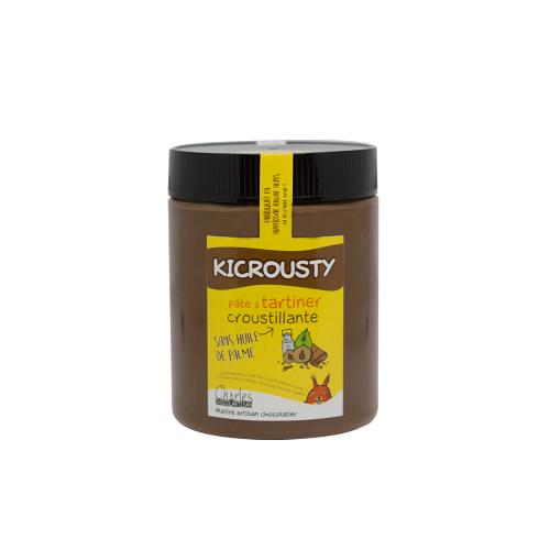 Pâte à tartiner Kicrousty 570 gr sans huile de palme