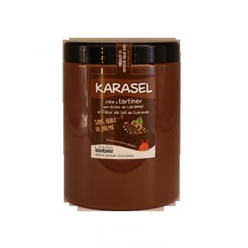 Pâte à tartiner Karasel 1.1kg sans huile de palme