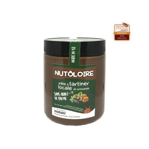 Pâte à tartiner Nutôloire 570 gr sans huile de palme