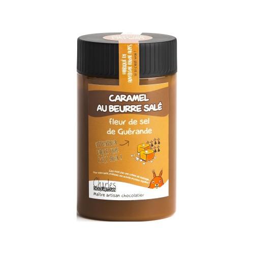 Caramel au beurre salé et fleur de Sel de Guérande - 280g