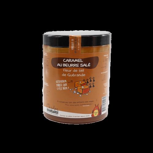 Pâte à tartiner Caramel beurre salé et Fleur de Sel de Guérande 1,1 Kg sans huile de palme