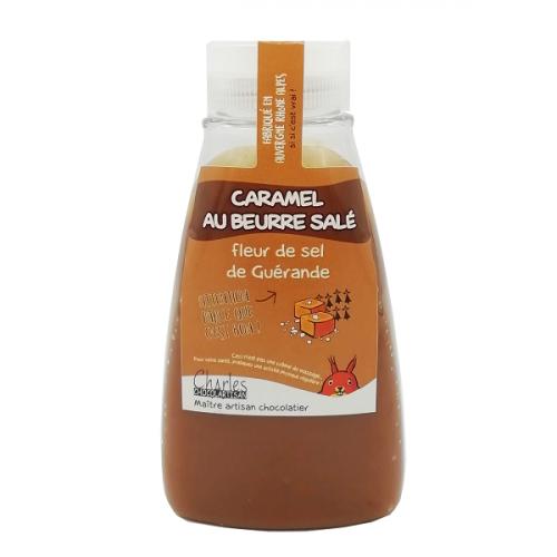 Pâte à tartiner Caramel beurre salé Squeezer 280g sans huile de palme