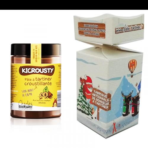 Papillote de Noël et pot de Kicrousty 110g
