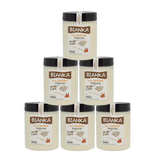 Pack de 6 pots de 570g Bianka