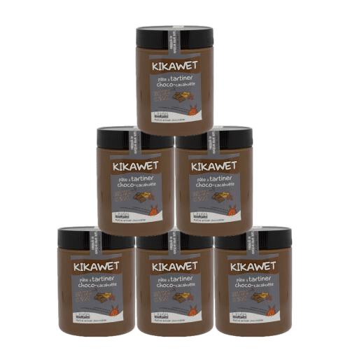 Pack de 6 pots de 570g de Kikawet