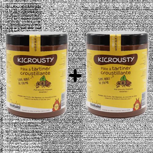Lot 2 x 1,1kg Kicrousty