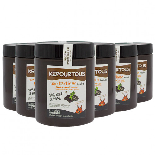 Pack de 6 pots de 570g de Kepourtous