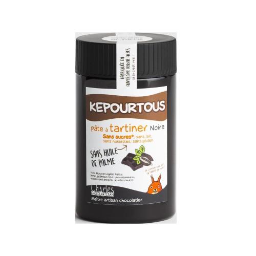 Kepourtous noir sans sucres