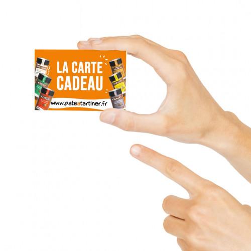 Pâte à tartiner La carte cadeau à partir de 20€ sans huile de palme