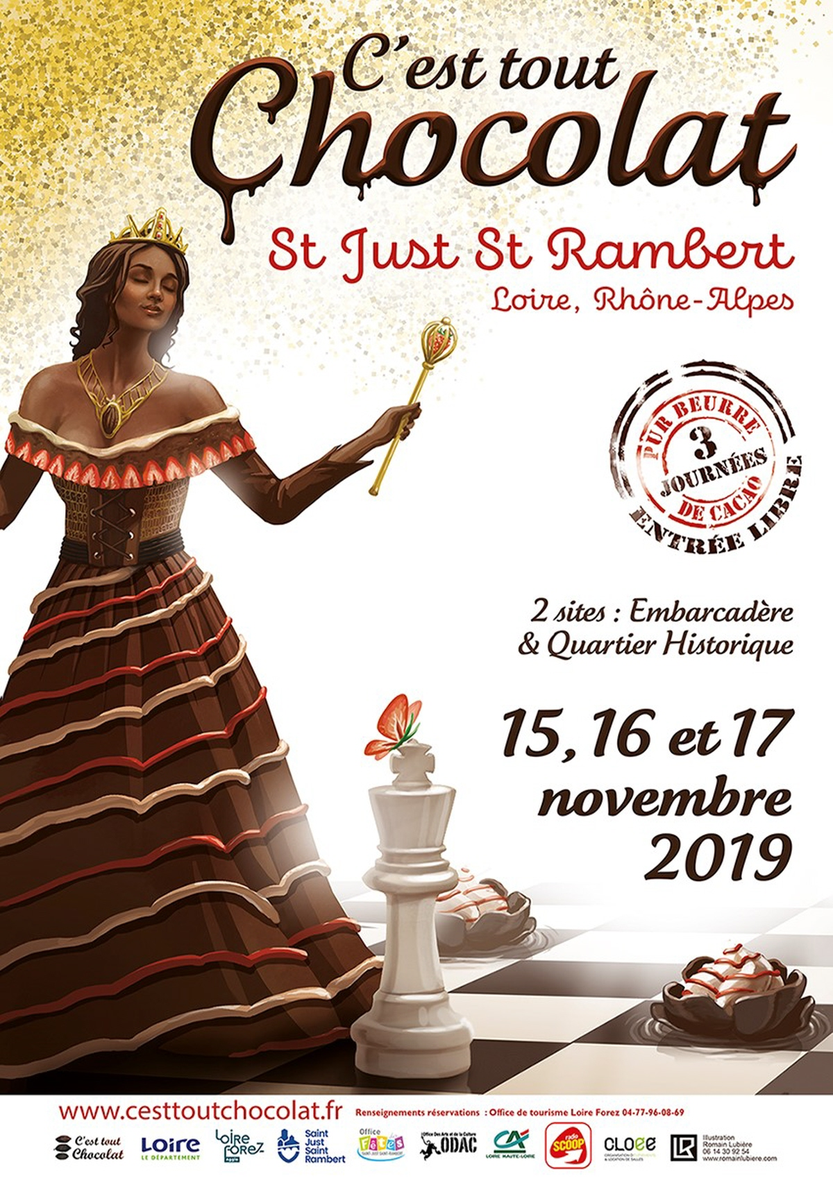 Salon c'est tout chocolat Saint Just Saint Rambert 2019