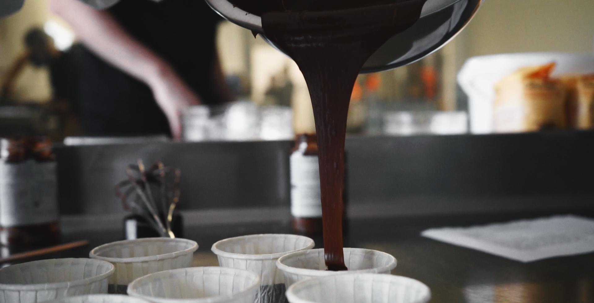 Préparation de brownies Kikawet - Cacahuètes choco-lait