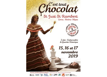 Torréfaction de fruits secs et fabrication de pâtes à tartiner au salon C'est tout chocolat de Saint Just Saint Rambert !