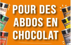 Pour des abdos en chocolat