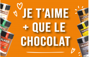 Je t'aime + que le chocolat