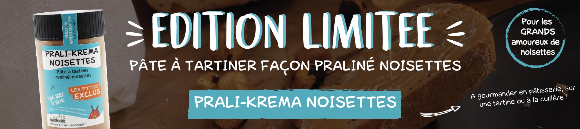 Edition limitée - Prali-Krema Noisettes